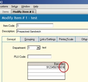 Check digit query
