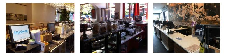 Reliable and robust Uniwell4POS systems in a variety of hospitality and food retail environments