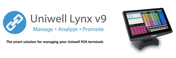 Choose Uniwell Lynx to help you get more out of your Uniwell POS solution